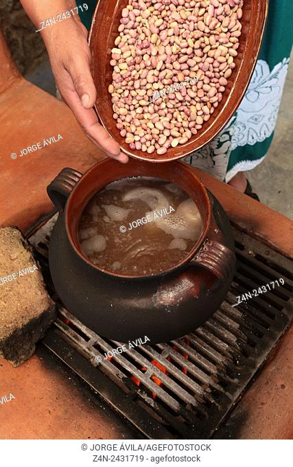Mexican food, beans