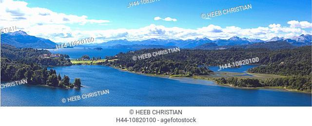 Lago Nahuel Huapi, Parque Nacional, Nahuel Huapi, national park, San Carlos de Bariloche, Lake District, Rio Negro, Pa