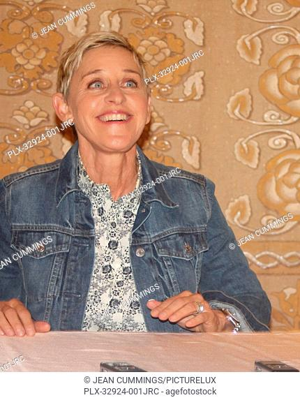 Ellen DeGeneres at Finding Dory Press Conference held on June 9, 2016 at the Montage Hotel in Beverly Hills, California. Reproduction by American tabloids is...