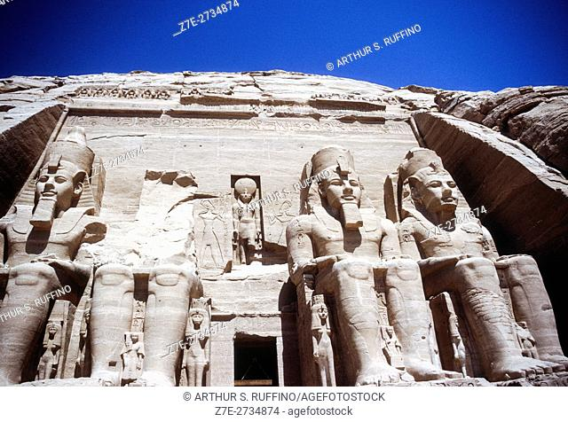 Abu Simbel, Temple of Ramesses II, Nubia, Egypt