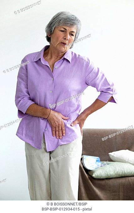 HIP PAIN IN AN ELDERLY PERSON