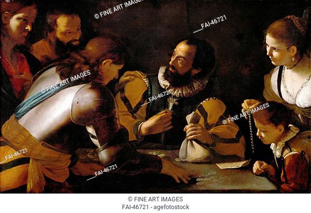 The Vocation of Saint Matthew by Preti, Mattia (1613-1699)/Oil on canvas/Baroque/c. 1635/Italy, Roman School/Art History Museum