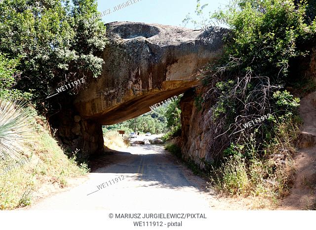 Tunnel Rock at Sequoia National Park, California