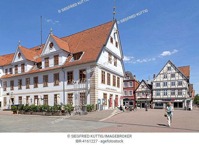 Old Town Hall, market square, Celle, Lower Saxony