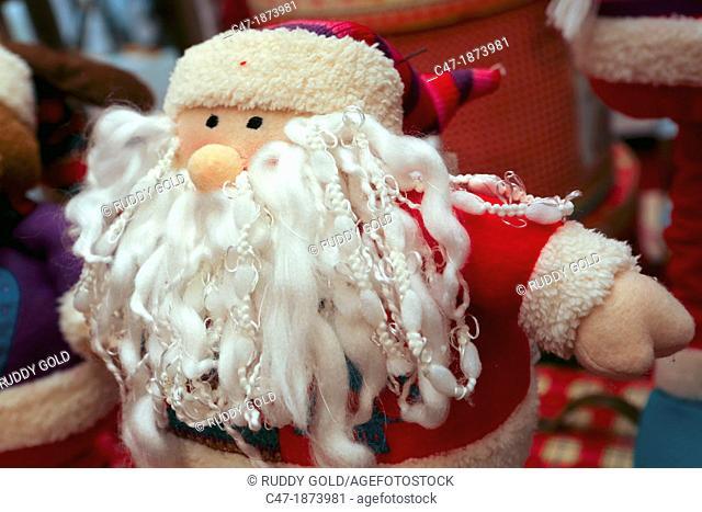 Winter decoration  Santa Claus