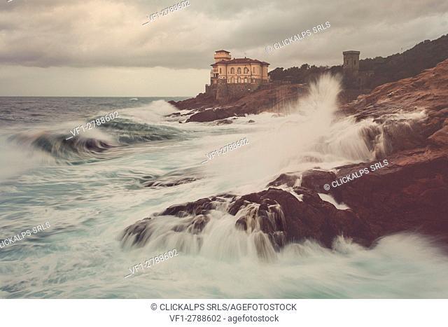 Europe, Italy, Tuscany, Livorno district