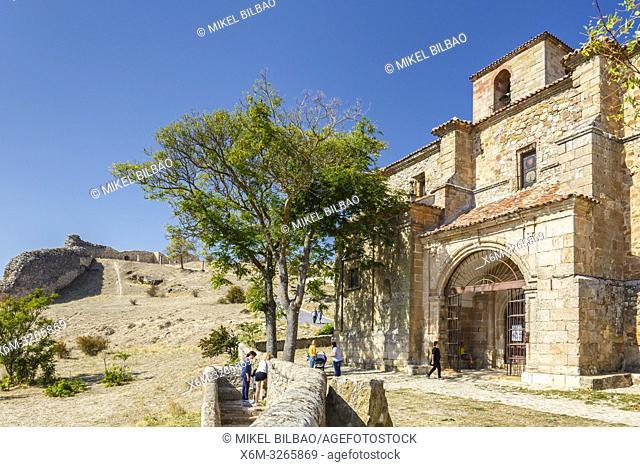 Santisima Trinidad Church. Atienza village. Guadalajara, Castilla-La Mancha, Spain, Europe