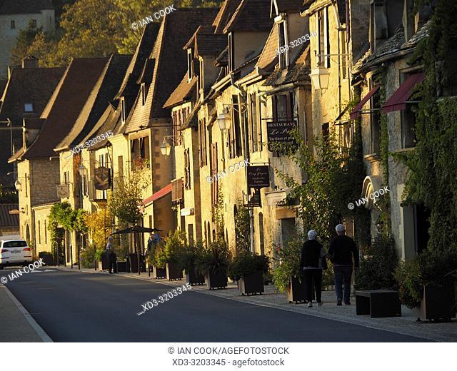La Roque-Gageac, Dordogne Department, Nouvelle Aquitaine, France
