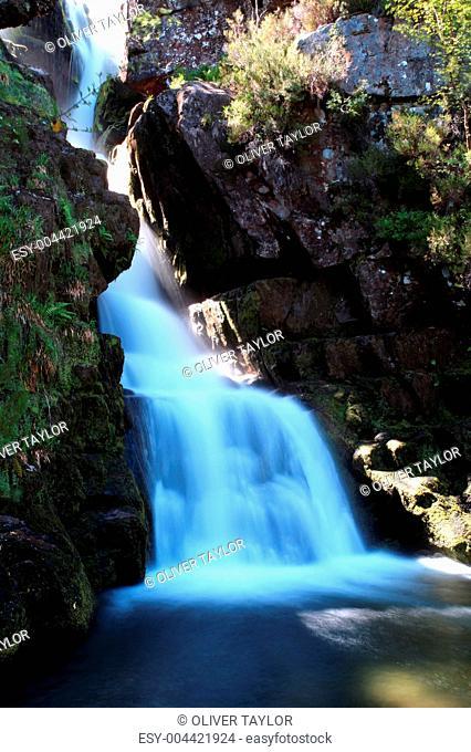 Scotish waterfall
