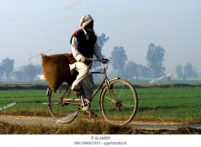 India, Haryana, cycle