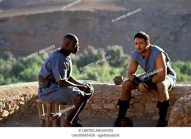 GLADIATOR / GLADIATOR UK/USA 2000 / Ridley Scott Kaiser Marcus Aurelius bestimmt den verdienten General Maximus zu seinem Nachfolger