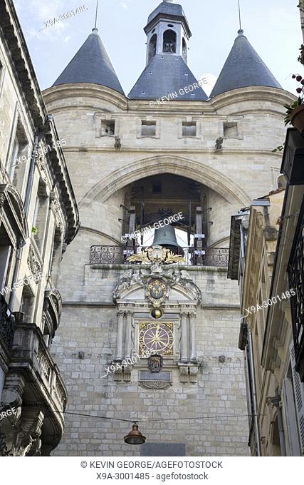 Grosse Cloche - Great Bell, Bordeaux; France