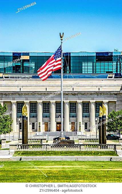 The American Legion National and State Headquarters in the Indiana World War Memorial Plaza, Indianapolis