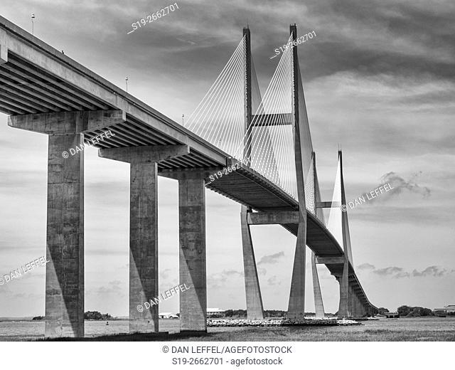 Jeykll Island Georgia Bridge