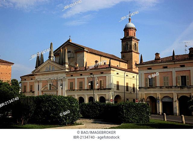 Church of Santo Stefano, Novellara, Emilia Romagna, Italy, Europe