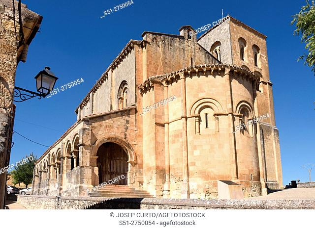 El Salvador church, Sepulveda, Segovia province, Castilla-Leon, Spain