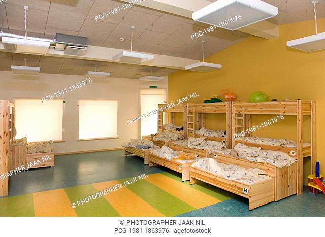 Kindergarten Nap Room