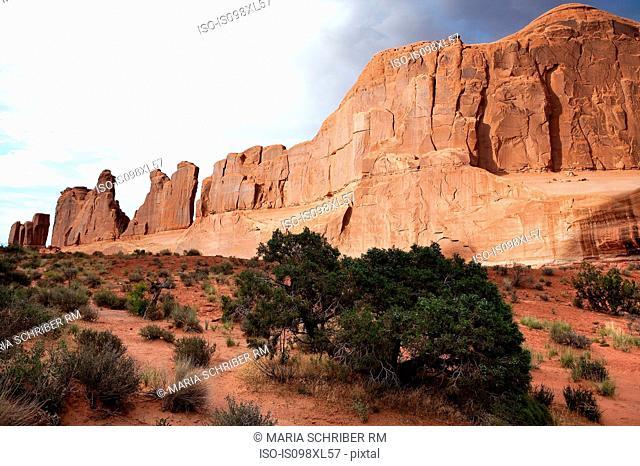 Red rocks of Moab, Utah, USA