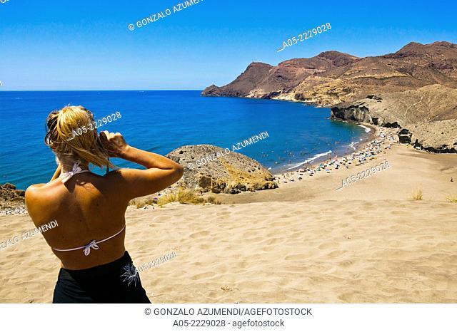 Monsul beach, Cabo de Gata - Nijar Natural Park, Almeria province, Andalucia, Spain