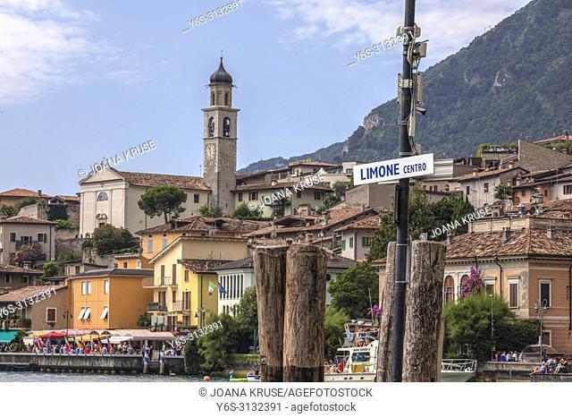 Limone Sul Garda, Lake Garda, Lombardy, Italy, Europe