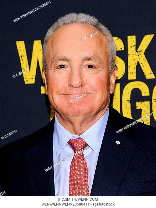 'Whiskey Tango Foxtrot' New York premiere at AMC Loews Lincoln Square Featuring: Lorne Michaels Where: New York, New York