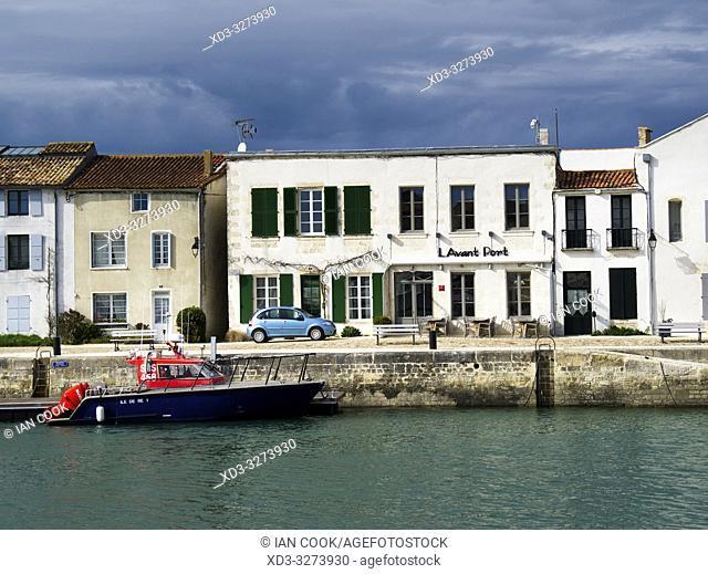 harbour, Saint-Martin-de-Re, Ile-de-Re, Charente-Maritime Department, Nouvelle Aquitaine, France