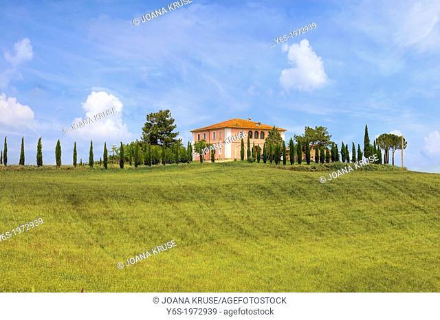 farm house near Montalcino, Tuscany, Italy