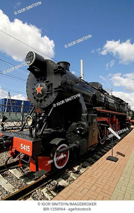 German Second World War steam locomotive TE-5415 of the 52 series, built in 1943