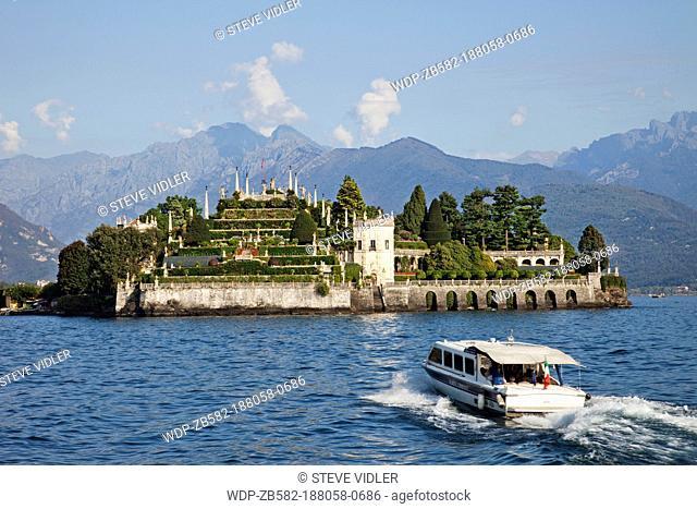 Italy, Piedmont, Lake Maggiore, Stresa, Isola Bella