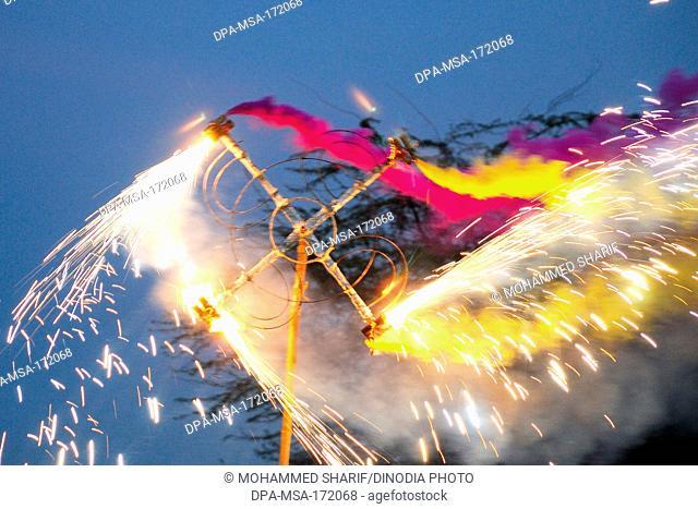 Fireworks ; Rajasthan ; India