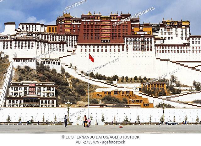 Potala palace. Lhasa, Tibet