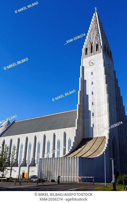 Hallgrimskirkja. Reykjavik, Iceland, Europe