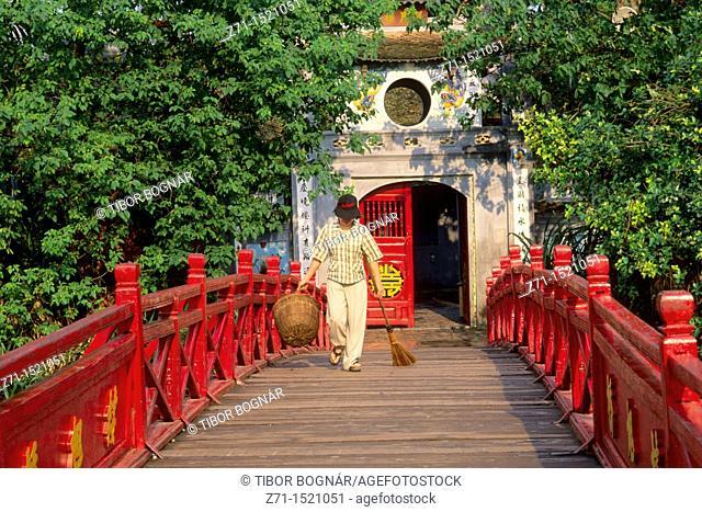 Vietnam, Hanoi, Ngoc Son Temple