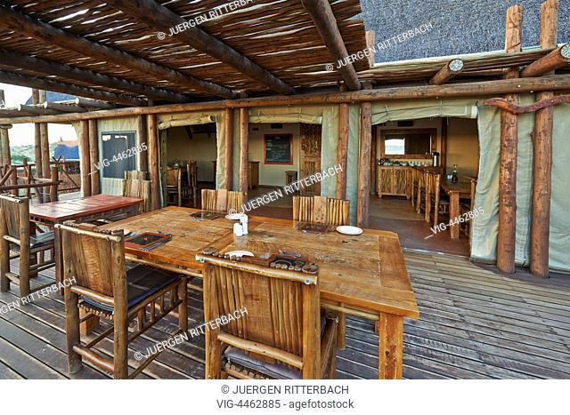 Xaus Lodge in Kgalagadi Transfrontier Park, Kalahari, South Africa, Botswana, Africa - Kgalagadi Transfrontier Park, South Africa, Botswana, 26/02/2014