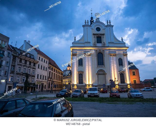 University Church of the Blessed Name of Jesus is baroque church, built by the Jesuits in the years 1689-1698