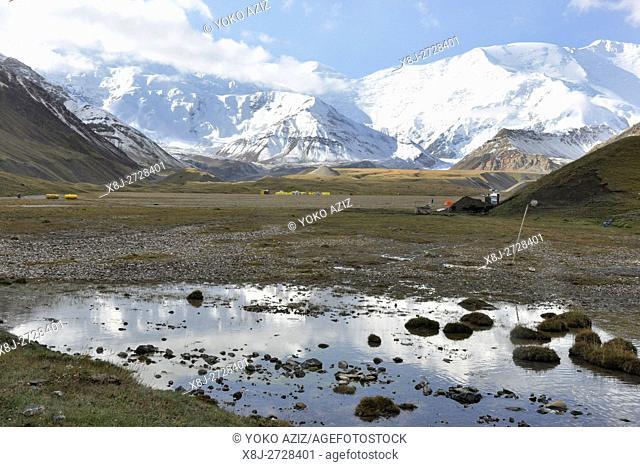 Kyrgyzstan, Lenin pick base camp