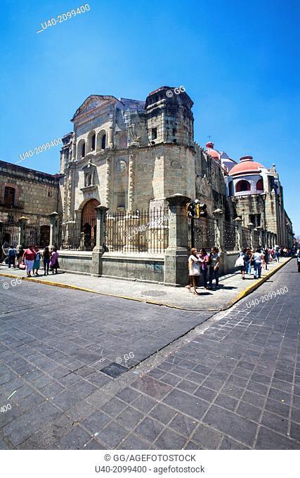 Mexico, Oaxaca, church