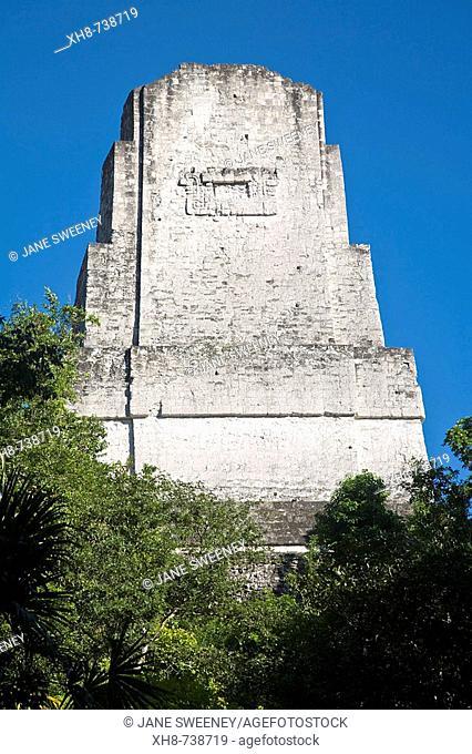 GUATEMALA, El Peten, Tikal, Temple 111