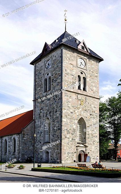 Church Var Frue from 1739, Trondheim, Norway, Scandinavia, Europe
