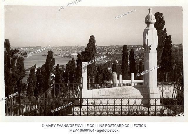 Istanbul, Turkey - Eyub Cemetery