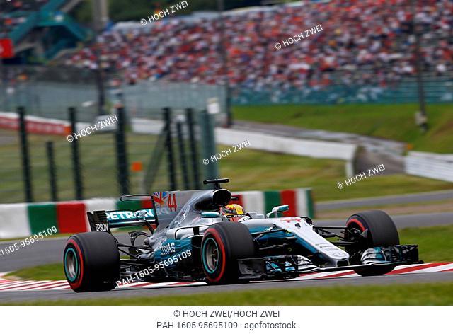 Motorsports: FIA Formula One World Championship 2017, Grand Prix of Japan, #44 Lewis Hamilton (GBR, Mercedes AMG Petronas Formula One Team)