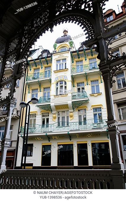 Zawojski House, Karlovy Vary, Czech Republic