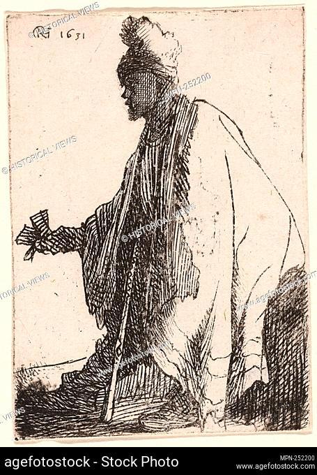 "The Leper (""""Lazarus Klep"""") - c. 1629 - Rembrandt van Rijn Dutch, 1606-1669 - Artist: Rembrandt Harmenszoon van Rijn, Origin: Holland, Date: 1623–1634"