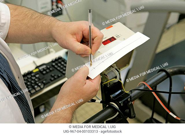 Respiratory Functional Exploration : cardiac stress test
