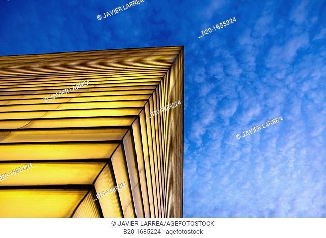 Kursaal building, Convention Centre, Donostia, San Sebastian, Gipuzkoa, Basque Country, Spain