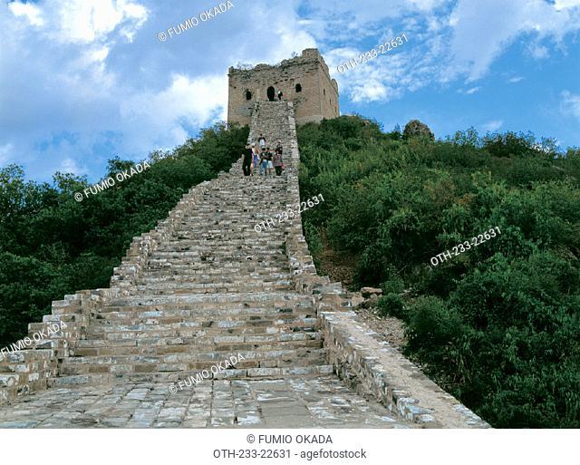 Si Ma Tai Great Wall, Beijing, China