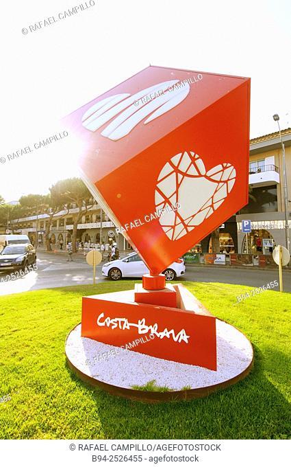 Castell-Platja d'Aro. Costa Brava. Girona. Catalonia. Spain