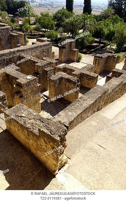 Cordoba (Spain). Architectural remains of the city of Medina Azahara