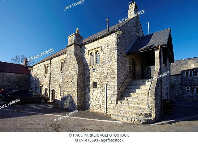 The Norman Town Hall in Llantwit Major, Glamorgan, South Wales, UK
