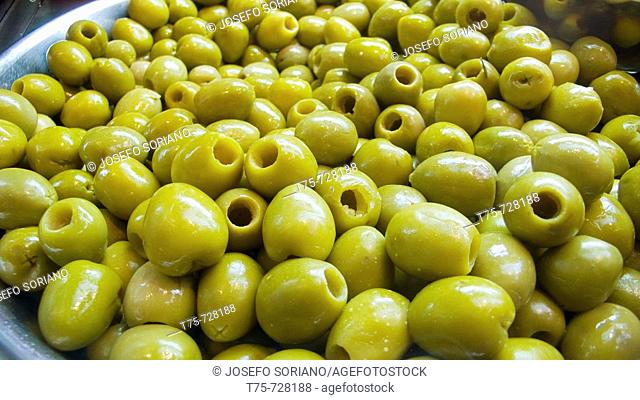 Olives 'Manzanillo' without stone